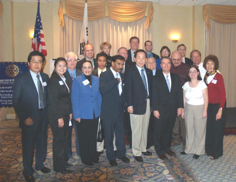 D. K. Lee Rotary International President
